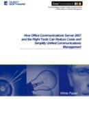 Die richtige Tool-Kombination vereinfacht das UC-Management