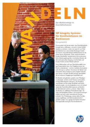 HP Integrity Systeme für Kernfunktionen im Bankwesen