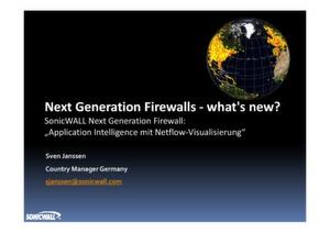 Application Intelligence mit Netflow-Visualisierung