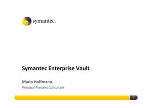 Enterprise Vault hilft bei unstrukturierten Daten