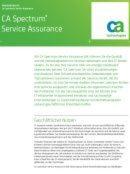 Service Assurance-Lösungen
