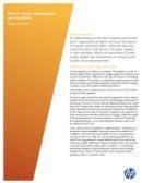 Private cloud: management pre-requisites