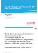 Experton Group Cloud Benchmark 2011