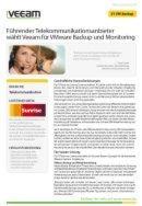 VMware Backup und Monitoring