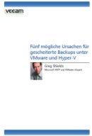 Backup-Lösungen für virtuelle Maschinen