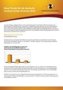 Neue Trends für die deutsche Contact Center Branche 2012