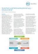 Sicherheit und Netzwerkoptimierung