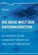 Die neue Welt der Datenmigration