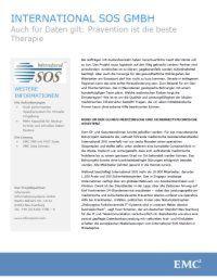 SOS GmbH implementiert Backup-to-Disk und Daten-Restore