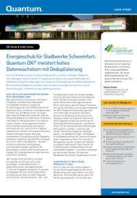 Energieschub für Stadtwerke Schweinfurt