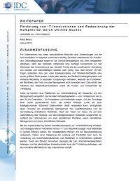 Förderung von IT-Innovationen und Reduzierung der Komplexität