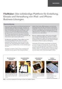 iPhone & co. im Businessumfeld - 3 Praxisbeispiele