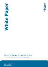 Vertrauen statt Angst als Basis der Sicherheit