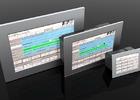 Positionier- und Ablaufsteuerung PA-CONTROL Touch mit Touchscreen-Bedienerführung.