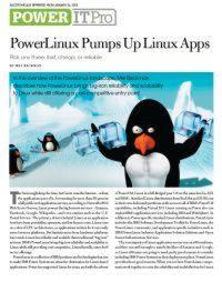 PowerLinux beschleunigt Linux Apps