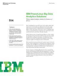 Analytics-Lösungen für Unternehmen aller Größen