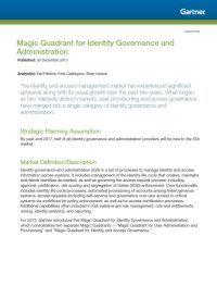 Gartners Magic Quadrant für IGA 2013