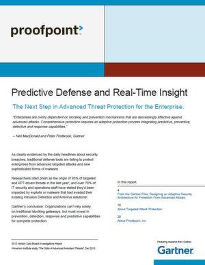 Einblicke in Echtzeit durch eine vorausschauende Verteidigungsstrategie