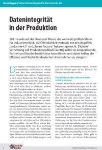 Datenintegrität in der Produktion