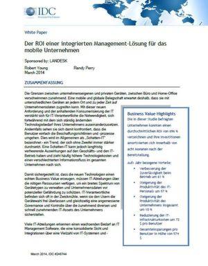 Integrierte Management-Lösung für mobile Unternehmen reduziert Aufwand und Kosten