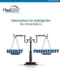 Datenschutz für Mobilgeräte