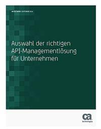 Die Auswahl der richtigen API-Managementlösung