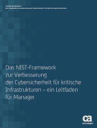 NIST-Framework zur Verbesserung der Cybersicherheit