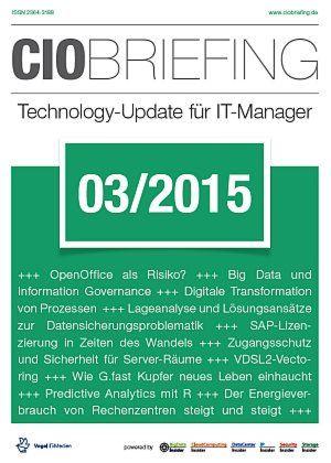 CIO Briefing 03/2015