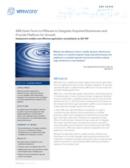 SAP-Konsolidierung in virtualisiertem Umfeld