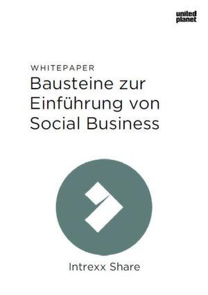 Bausteine zur Einführung von Social Business