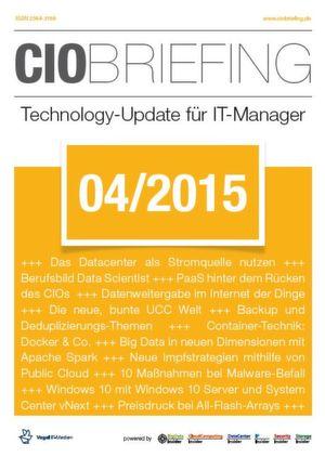 CIO Briefing 04/2015