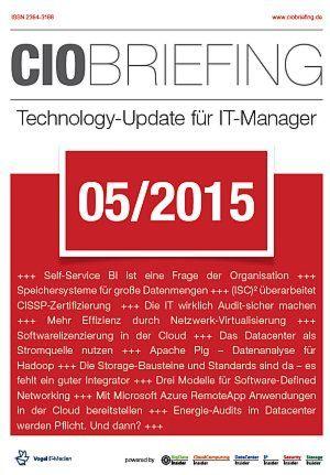 CIO Briefing 05/2015