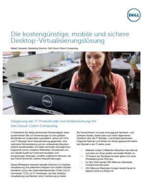 Die kostengünstige, mobile und sichere Desktop-Virtualisierungslösung