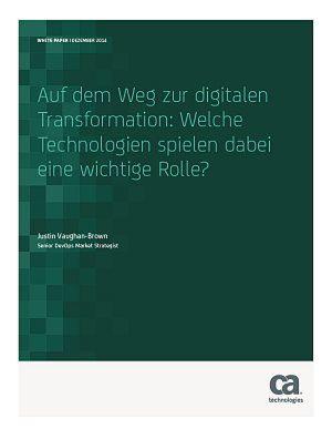 Auf dem Weg zur digitalen Transformation