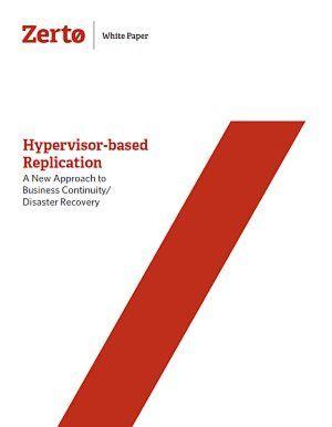 Hypervisor-basierte Replikation