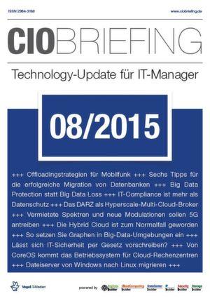 CIO Briefing 08/2015