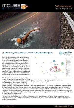 Security-Fitness für Industrieanlagen