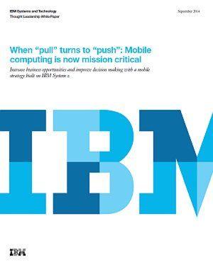 Mobile Computing als geschäftskritischer Faktor