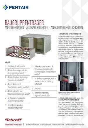 Baugruppenträger