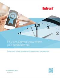 Wissen Sie, wo sich Ihre Zertifikate befinden?