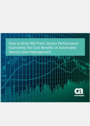 Untersuchen Sie die Kostenvorteile des automatisierten Service-Level-Managements