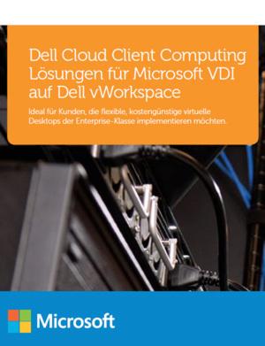 Lösungen für Microsoft VDI