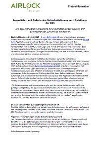 Eine Sicherheitslösung nach Richtlinien der EBA