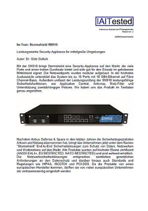 UTM-Appliance im Funktions- und Penetrationstest