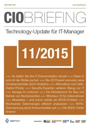 CIO Briefing 11/2015