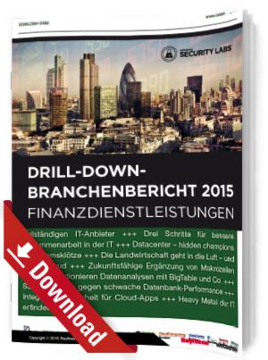Drill-Down-Branchenbericht 2015: Finanzdienstleistungen