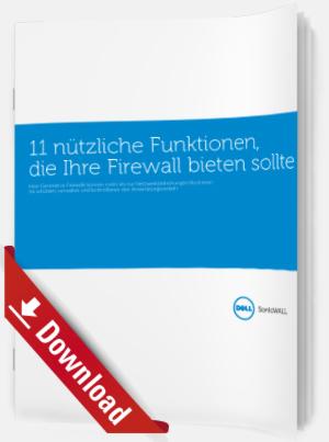 11 nützliche Funktionen, die Ihre Firewall bieten sollte