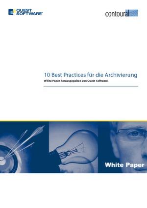 In zehn Schritten zur perfekten Archivierungs-Strategie