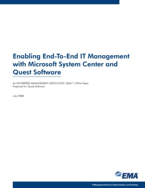 IT-Management mit MS System Center und Quest Software