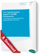 Der Total Economic Impact von IBM Connections